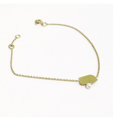 paris yellow gold bracelet