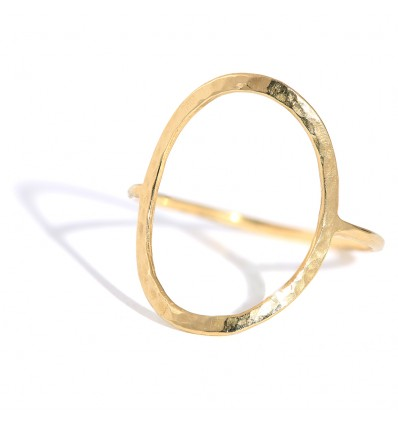 OVAL PUR YELLOW GOLD